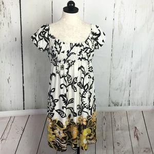 Muse Smocked Floral Dress